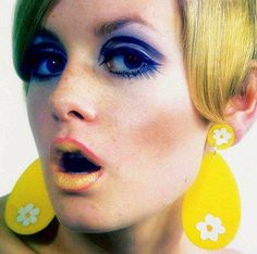 Twiggy - Mary Quant makeup