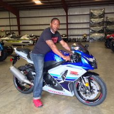 Thanks to Illya McClendon from Dekalb MS for getting a 2016 Suzuki GSX-R1000 at Hattiesburg Cycles