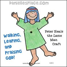 Walking, Leaping and Praising God Activity Sheet for Peter heals the lame man Sunday School Lesson Bible Story Crafts, Bible School Crafts, Bible Crafts For Kids, Preschool Bible, Bible Lessons For Kids, Bible Activities, Preschool Lessons, Bible Stories, Kids Bible