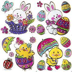"Easter Window Clings Bundle - 18 Items (1"" to 6"") Greenbrier http://www.amazon.com/dp/B01BXWK26U/ref=cm_sw_r_pi_dp_OT31wb1Z0N3PH"