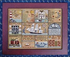 Shores of Hawk Run Hollow - Cross Stitch Pattern. By Carriage House Samplings. $28.79