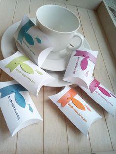 "Papierschneiderei: Gastgeschenke ""Pillow-Box"""