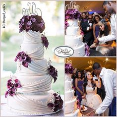 Nigerian wedding: Extravagant & luxurious wedding cakes by Royal cakes