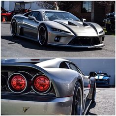 Falcon F7 Hypercar, like a boss
