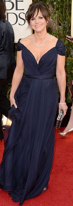 Sally Field + Gown