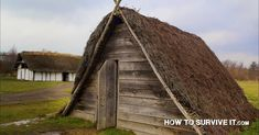 Here you'll see how people from around the globe have built their own primitive homes throughout history.