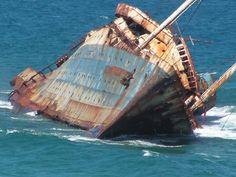 El American Star — SS America — USS Westpoint fue un trasatlántico de 220 metros que en 1994 quedó varado enfrente de las costas de Fuerteventura debido a una fuerte tormenta.