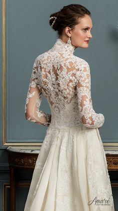 Amaré Couture 2017 Wedding Dresses | Deer Pearl Flowers / http://www.deerpearlflowers.com/amare-couture-2017-wedding-dresses/