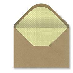 Sobres forrados invitaciones - KRAFT LISO PUNTO SUAVE 229x162 mm. (verde claro) Pedragosa http://www.amazon.es/dp/B010NOYPMG/ref=cm_sw_r_pi_dp_B0OKvb1KQC2MN
