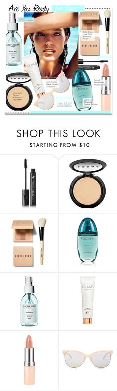 """""""Are You Ready For Sun ?"""" by kusja ❤ liked on Polyvore featuring beauty, LashFood, LORAC, Bobbi Brown Cosmetics, Calvin Klein, Rimmel, Smith Optics, Tiffany & Co., Summer and Beauty"""
