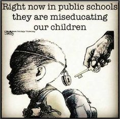 """It's called COMMON CORE!  The deliberate  dumbing down of America.  """"Teach your kids to question everything."""" ~#YourUncensoredTruth"""
