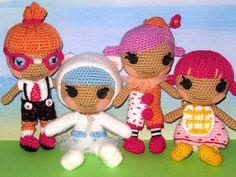 My crocheted Lalaloopsy Littles