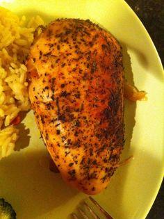 Crockpot Rotisserie Chicken Breasts - Chicken tasted like Herb Chicken, not so much Rotisserie Chicken, still good