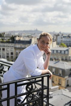 A new chef at the Raphael. With her blond good looks, sparkling personality and cheerful smile, Amandine CHAIGNOT, 32, is one of the very few women to have taken the reigns in a top Parisien kitchen. True to character, she runs her kitchen with authority, professionalism and passion.