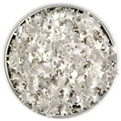 Silver Star Edible Glitter
