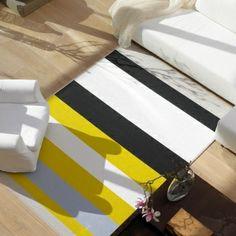 Avenue matto, kitti-keltainen/woodnotes