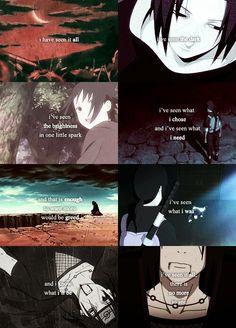 Uchiha Itachi, sad, text, quote, from Naruto Anime Naruto, Naruto And Sasuke, Naruto Shippuden Anime, Boruto, Naruto Quotes, Sad Anime Quotes, Sasuke Uchiha Quotes, Ninja, Itachi Uchiha