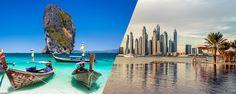 Luxusná dovolenka pre 2 osoby, počas ktorej stráviš 3 dni v Dubaji a 7 dní v Thajsku môže byť tvoja!