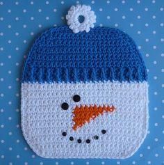 Ravelry: Snowman Potholder pattern by Doni Speigle