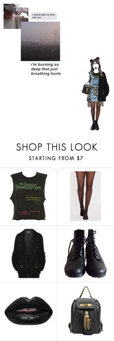 """""""Hopelessly devoted 2 u"""" by safi-a ❤ liked on Polyvore featuring Balmain and Moschino"""