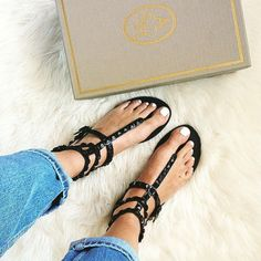 Ash MUMBAY Studded Sandals Black Leather. Now  40% off! Shot by Emma Hill     http://www.ashfootwear.co.uk/search/mumbay