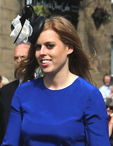 Prince Beatrice figlia di Andrea duca di York e Sara Ferguson