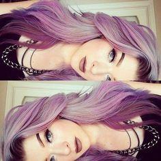 Melting Mauve Shades - Purple Hairstyles That Will Make You Want Mermaid Hair - Photos