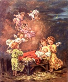 angels with Christ Child