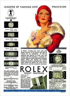 Anuncio de 1930 en favor de la icónica marca.