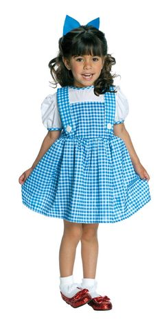 The Tiny Tikes toddler Dorothy costume is an officially licensed Wizard of Oz costume in infant and toddler sizes. Get the Dorothy costume for Halloween. Add Toto from our Dorothy costume accessories. Wizard Of Oz Dorothy Costume, Dorothy Halloween Costume, Clever Halloween Costumes, Toddler Costumes, Cute Costumes, Halloween Fancy Dress, Baby Costumes, Costumes For Women, Carnival