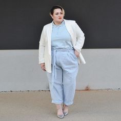 Also find this new look at my latest post for @soulfully_de who is also obsessed with high-waisted trousers and paperbag waists?😍  #plussize #fashion #blogger #plusblogger #plusmodelmag #soulfully #otto #asoscurve #asseenonme #skorchmagazine #effyourbeautystandards #bodypositive #streetstyle #tailored #fashionblogger #fashionforwardplus #tcfstyle #psfashion #psblogger #loveyourself #bekind #staysoulfully #doyou #stylefilesplus