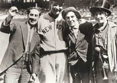 Lou Gehrig & the Marx brothers