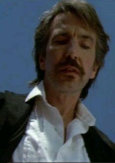 Alan Rickman as Elliot Marston, in Quigley Down Under
