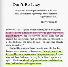 So good. This current generations needs this reminder daily. Do not procrastinate but seek first his will, his kingdom, his love!