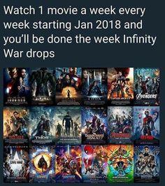 Ini Dia Urutan Nonton Film Marvel Cinematic Universe yang BENAR Sebelum Avengers: Infinity War