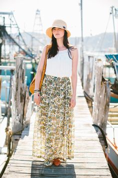 summer travel clothes inspiration! jodi wilson of ché and fidel   photo by luisa brimble