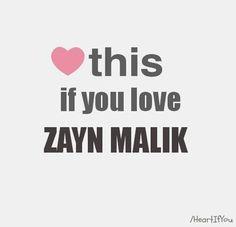 I Love Zayn Malik! <3
