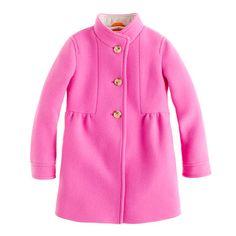petite pink coat