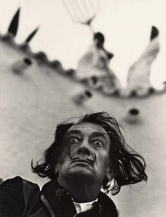 Salvador Dali (1904-1989), b. Spain // photograph by Philippe Halsman…