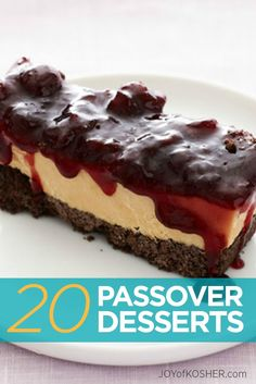 19 Passover Desserts That Aren't Macaroons