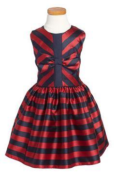 HalabalooStripe SleevelessParty Dress (Toddler Girls, Little Girls & Big Girls) available at #Nordstrom