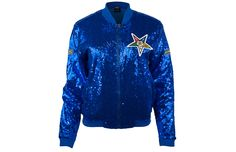 Order of the Eastern Star OES Sequin Jacket- Blue - Brothers and Sisters' Greek Store