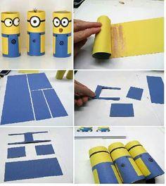 Minions paper roll