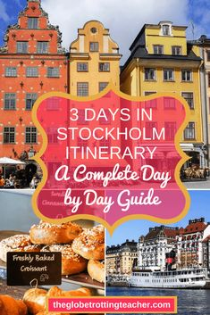 3 days in Stockholm Itinerary: A Complete Day by Day Guide - Planning a trip to Stockholm, Sweden? Use this 3 Days in Stockholm guide to plan your Stockholm itinerary with the best things to see and do. Plus, get tips for where to stay in Stockholm, how to get around Stockholm, and how to save money while in Stockholm. #travel #traveltips #travelling #travelersnotebook #europe #sweden #stockholm #vasa #royalpalace #subwayart #sightseeing #scandinavia