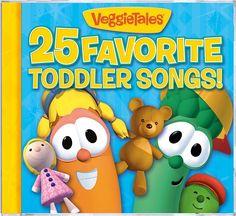 25 Favorite Toddler Songs! by VeggieTales (CD, Jun-2010, Big Idea Records) New #Christian