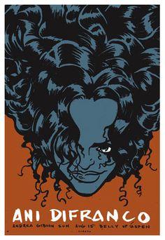 Ani Difranco poster.
