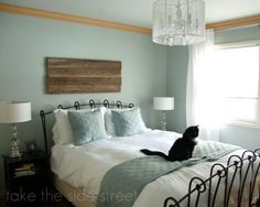 love this paint color for master bedroom