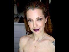 Julia Petit passo a passo berinjela e cobre Maquiagem