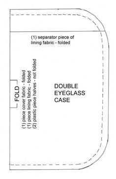 Eyeglass Case Pattern