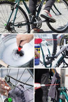 Cómo limpiar y lubricar una bicicleta ➜ aprende paso a paso a poner a punto tu bicicleta.  #Limpiar #Lubricar #WD40 #Bicicleta #Bike #DIY